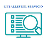 detalles de servicio